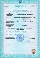 Лицензия (2006-2011)
